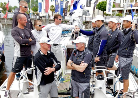 Peter Gilmour will line up against Karol Jablonski at Match Race Germany_Photo: Andrew Carter/WMRT